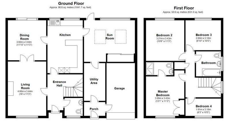 Floor Plan Left | Bluewire Hub Ltd